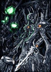 Mammon - Demon of Machines by Maxa-art