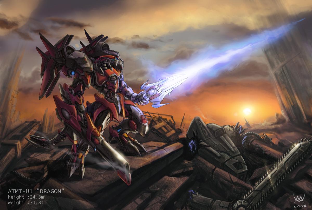 ATMT-01 Dragon by Maxa-art