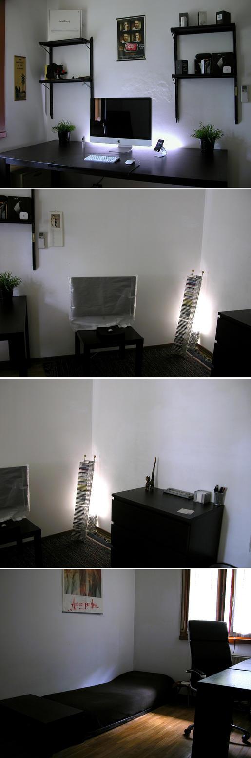My Apple setup, aka bedroom by Sonic969