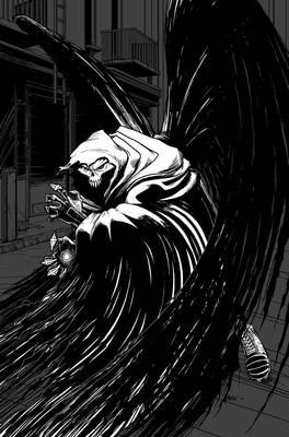 Death Angel Pinup
