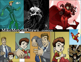 Mikemetcalfdraws Comics2 by MichaelMetcalf