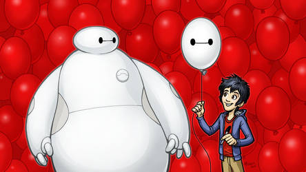 Bighero6-color by MichaelMetcalf