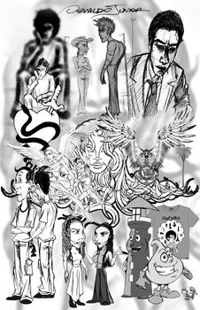 Some drawings in one page