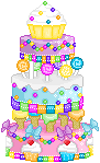Candy Cake by Miolene