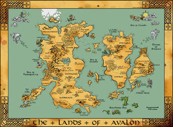 Medieval Map by Fimbulwulf