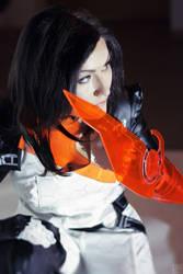 Miranda Lawson - Mass Effect cosplay