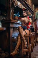Mad Moxxi cosplay by MonoAbel