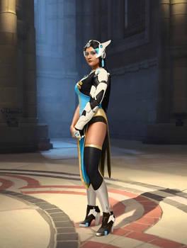 Overwatch - Symmetra cosplay