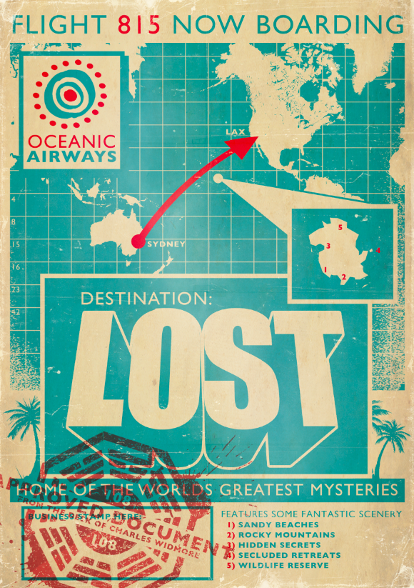 Lost Poster by ameba2k
