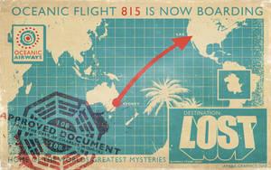Lost Poster Desktop Background