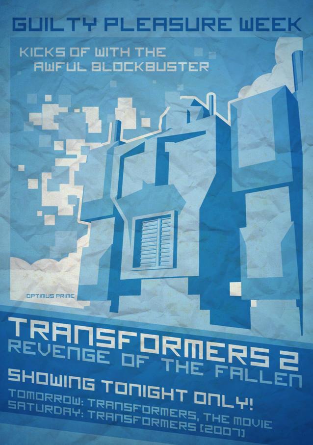 Transformers Film Poster by ameba2k