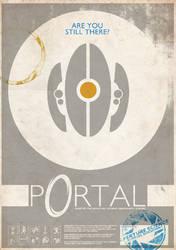 Portal Poster 01 by ameba2k