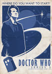 Dr Who Poster