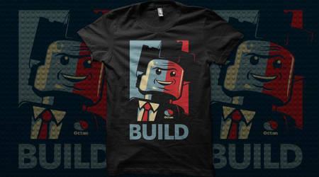 BUILD - Qwertee T Shirt