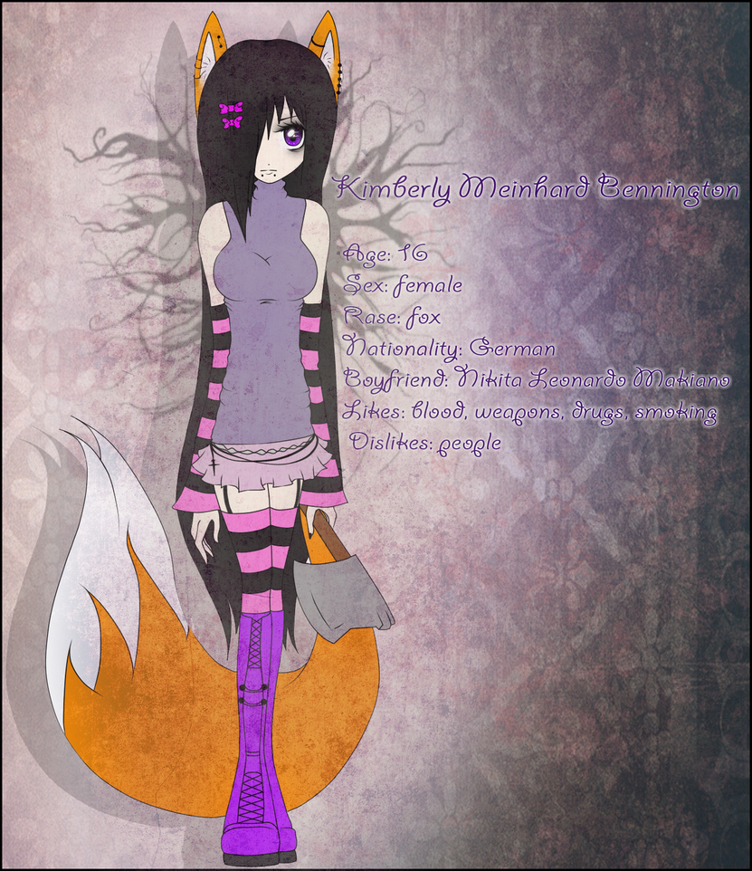 .::Kimberly Meinhard Bennington::. by Kimmy-tyan