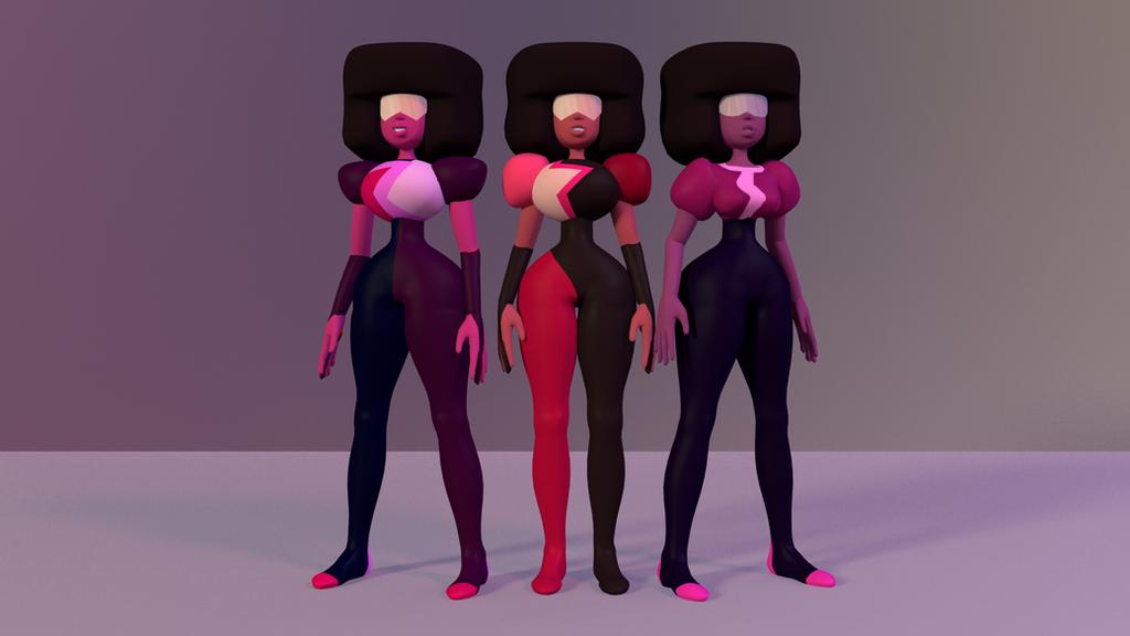 Garnet 3D Model Pack Download By Revupthoselewds On DeviantArt