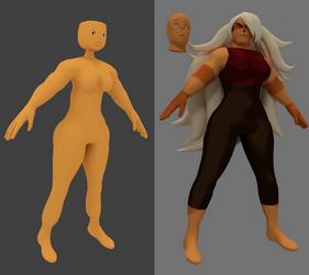 Jasper 3D Model (WORK IN PROGRESS) by revupthoselewds