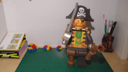 LEGO Pirate Papercraft