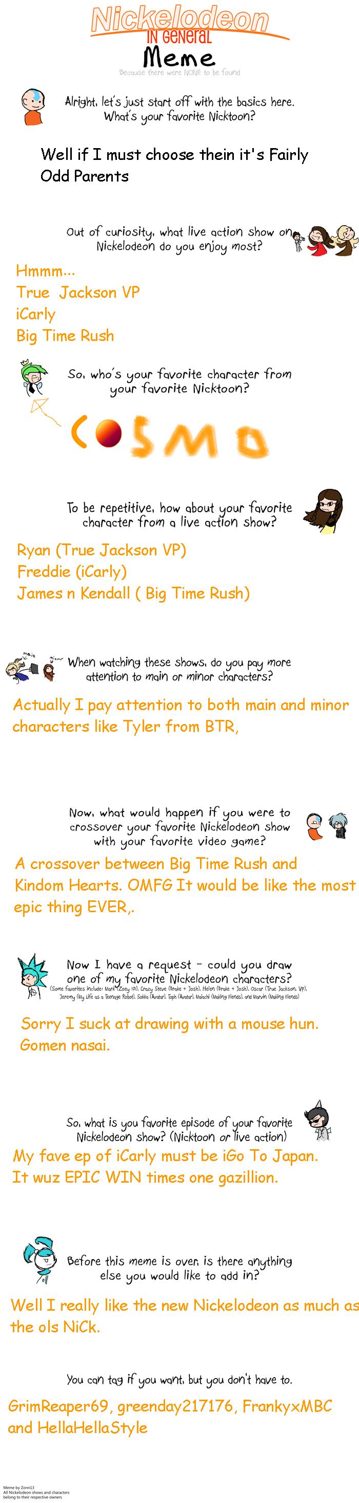 Nickelodeon Meme by Xi... Nickelodeon Meme