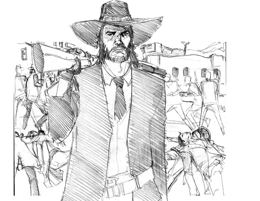 red dead redemption coloring pages - photo#34