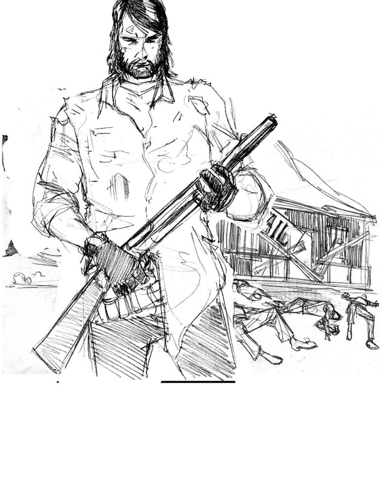 red dead redemption coloring pages - photo#30