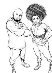 Bounce The Comic Strip by NStevenHarris