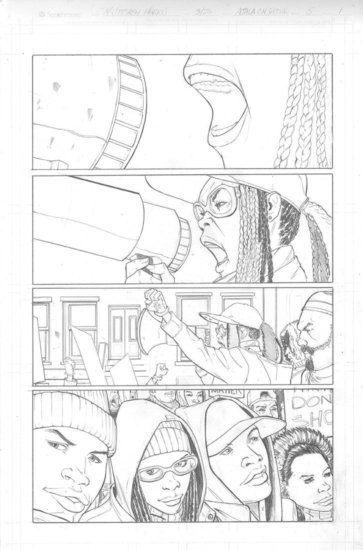 Ajala Book 5 p. 1 by NStevenHarris