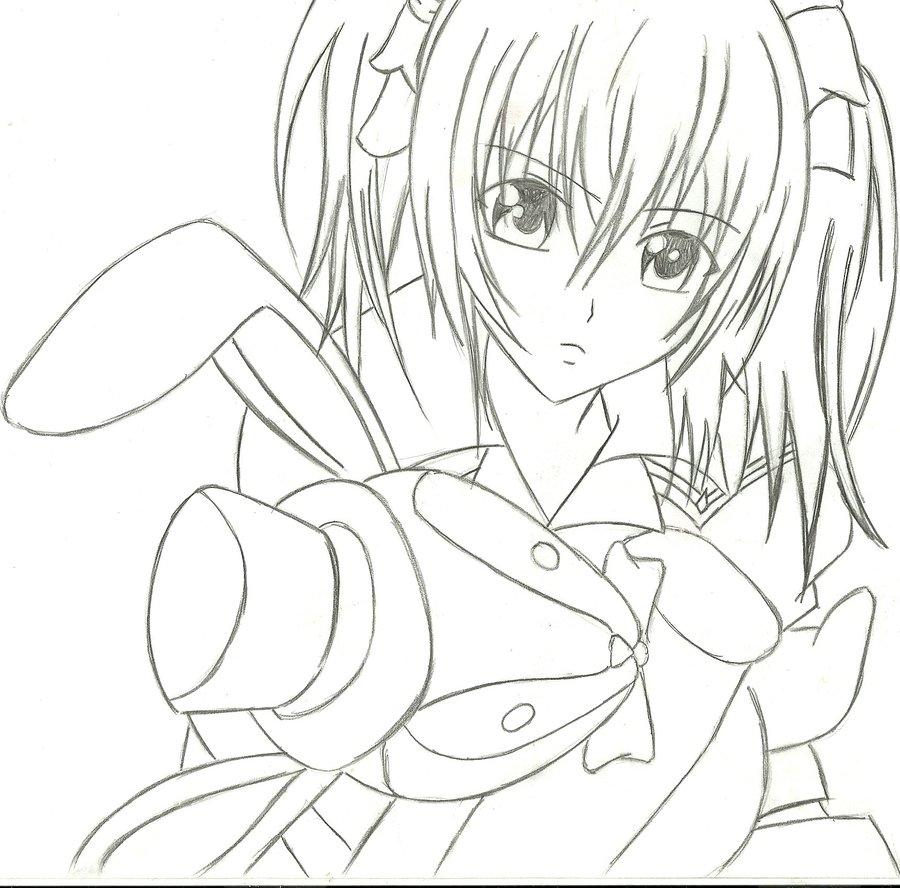 vampire knight rima drawing by monique857410 on deviantart