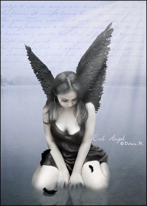 Evil Angel by LadyDarkRaven