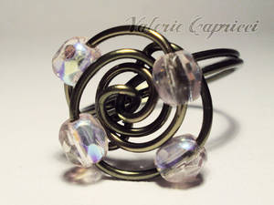 Anello Wired Ametista