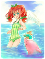 Summer sea by Saisuna
