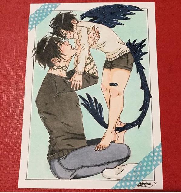 Watari and Akita by ghostcutter