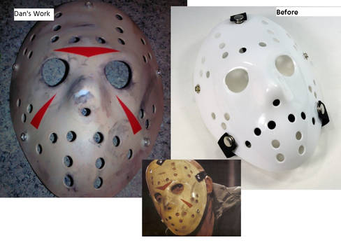 Jason Voorhees paint and weathering