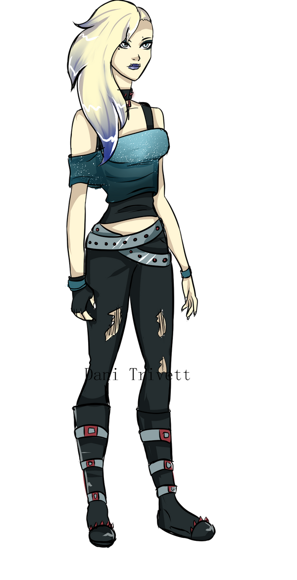 YJ Oc: Concept gift Gwen by QueenBeeCoffeeQueen