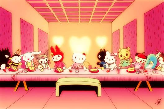 Hello Kitty Last Supper