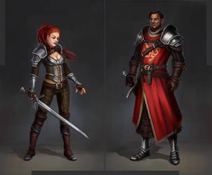 Characters by Ta-Nru