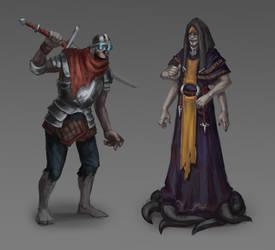 Dark characters by Ta-Nru