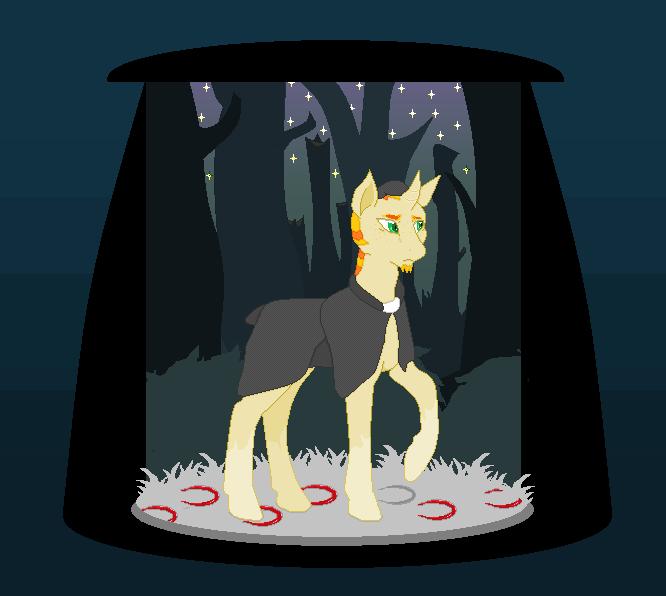 Pixel Preist Pony by GintaLover
