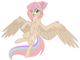 Whee lookie mah wings by cayfie