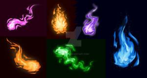 Fire/Magic Practice + Tutorial Video