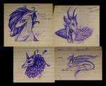 ~Biro sketches from Uni Lectures~