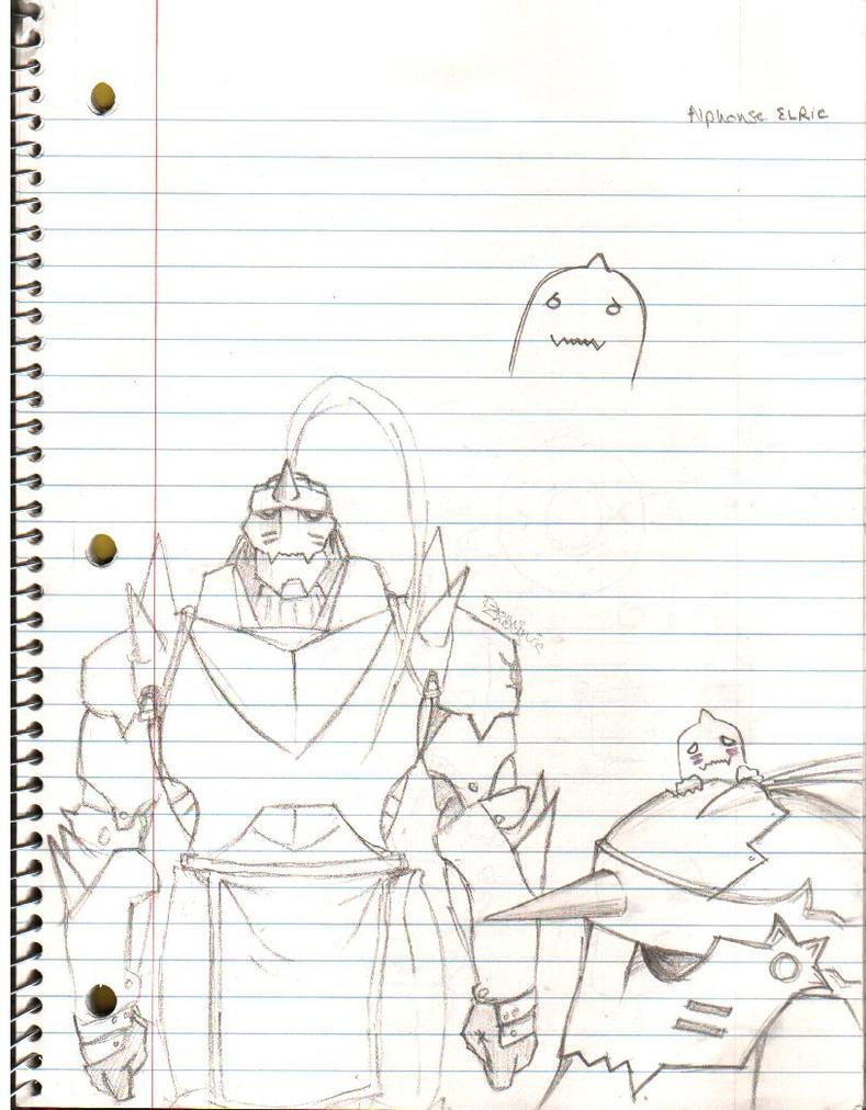 Alphonse Elric Fullmetal by ZhengDominic