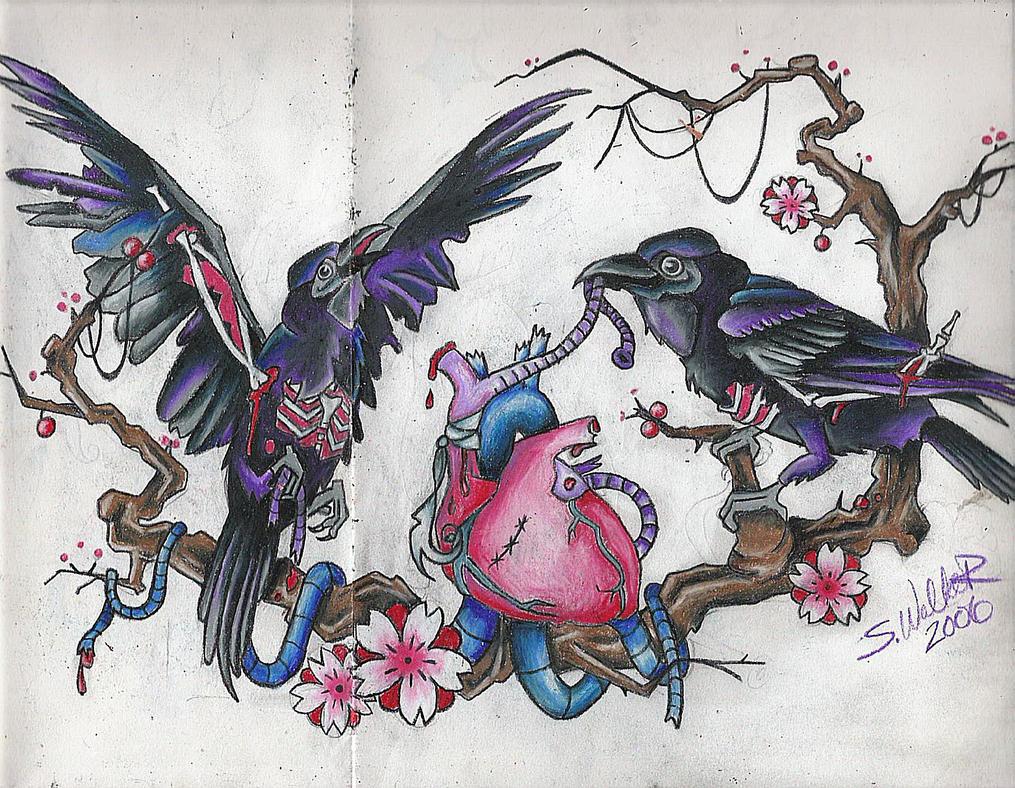 Scavenger of Love, Hunter of.. - chest tattoo