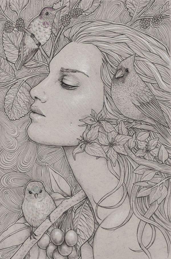 Birdies1 by Lorrain