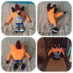 Crash Bandicoot Plush (For Sale)