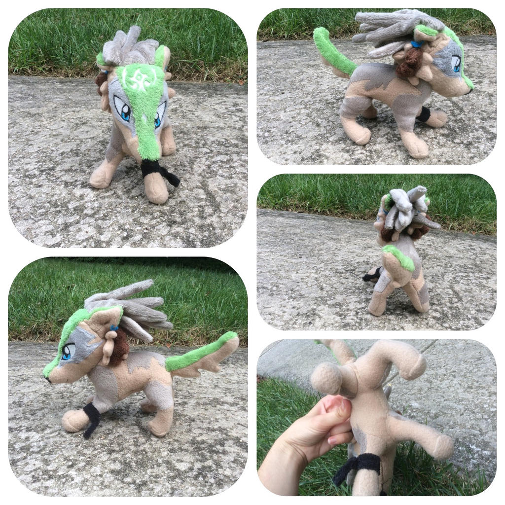 Wolf Link Plush for sale (Auction)