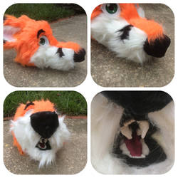 Fox Fursuit Head Pictures 2 by shibblesgiggles01