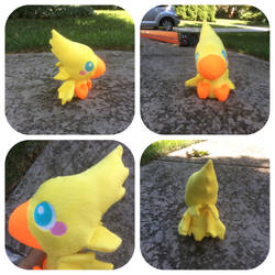 Final Fantasy Chocobo Plush by shibblesgiggles01