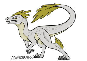 Raptor Adopt (Open) by shibblesgiggles01