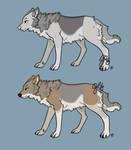Wolf Adopts Set 1 (Open)